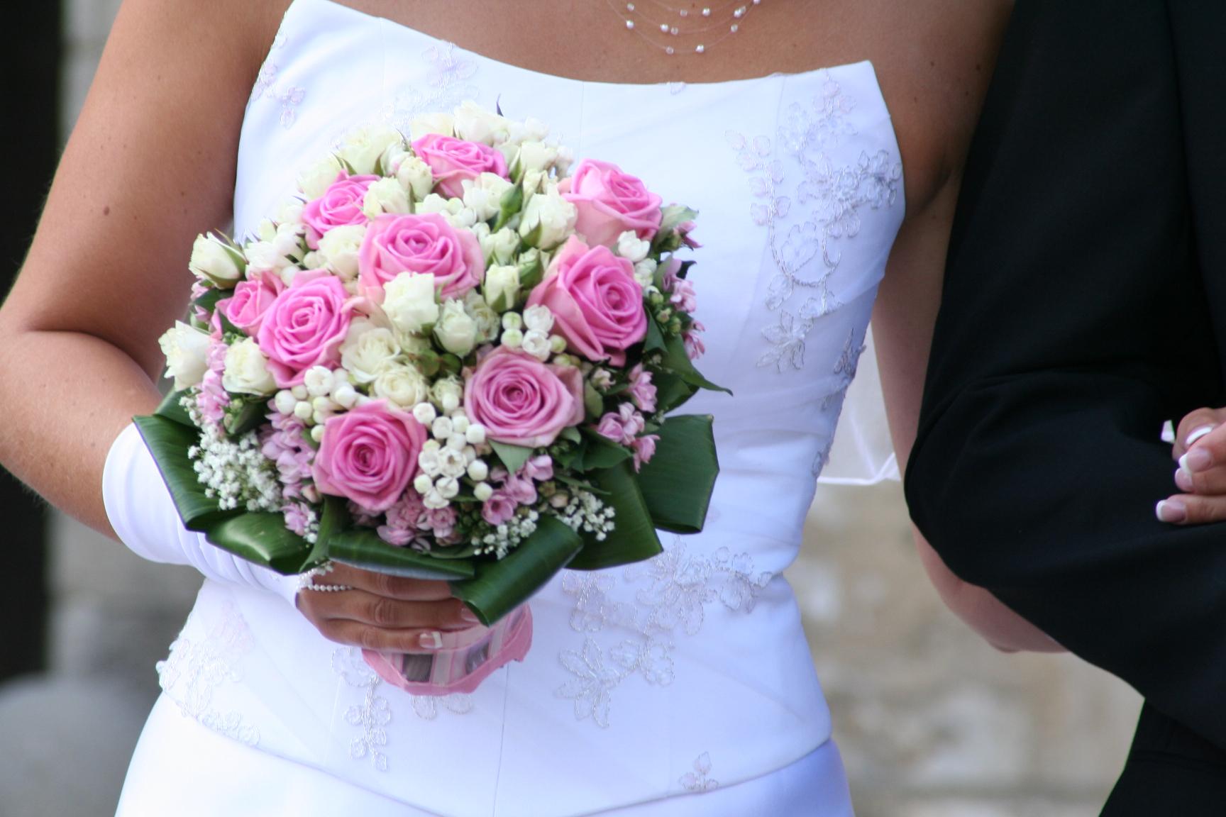 Свадебный букет своими руками из пионовидных роз с собственными стеблями 22